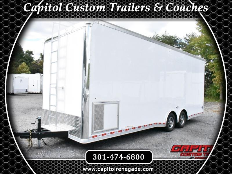 2019 United Trailers Super Hauler 26' Sprint Car Hauler