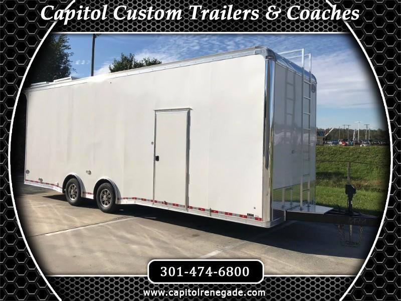 2019 United Trailers Super Hauler 28' Sprint Car Hauler LED LIGHTS