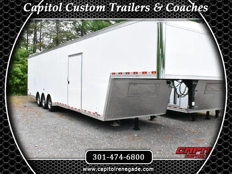 2019 United Trailers Super Hauler 40' Gooseneck Trailer
