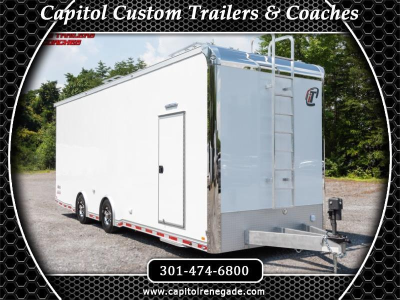 2019 Intech Trailers Custom 28' Sprint Car Hauler