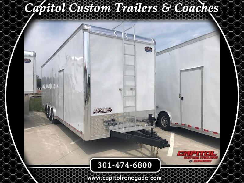 2019 United Trailers Super Hauler 32' Tag Sprint Car Hauler
