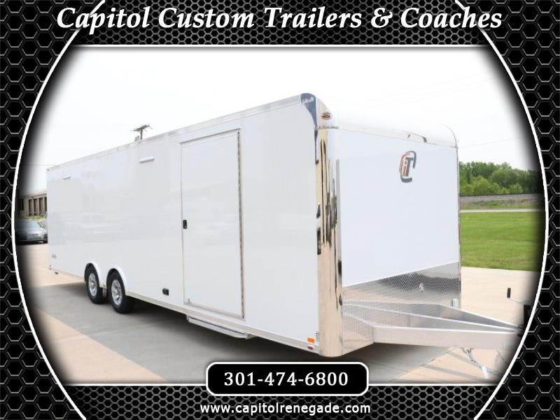 2020 Intech Trailers Custom 28' Lite All Aluminum Car Hauler