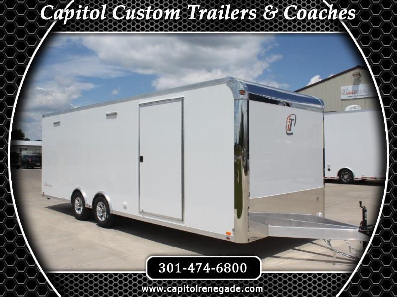 2020 Intech Trailers Custom 24' Lite All Aluminum Car Hauler