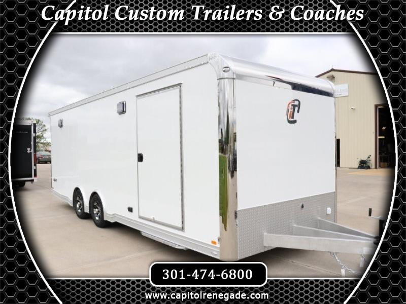 2020 Intech Trailers Icon 24' Icon All Aluminum Car Hauler