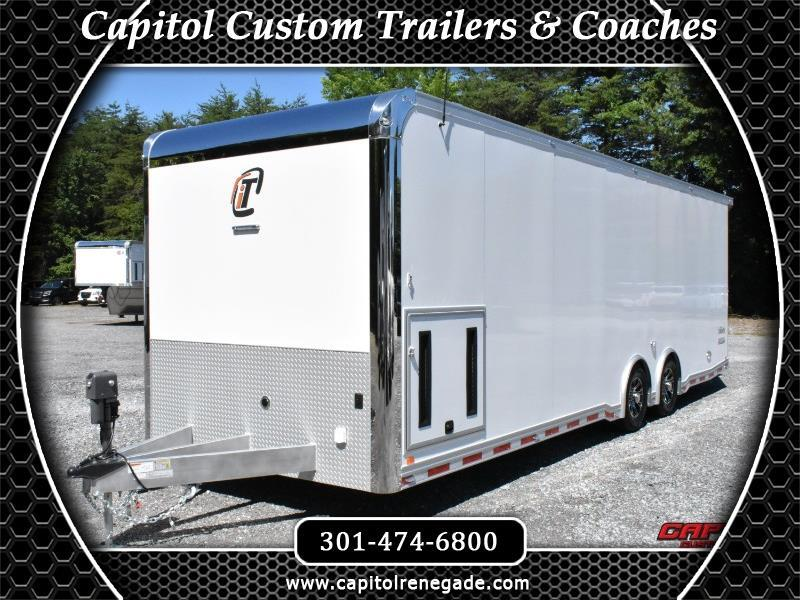 2020 Intech Trailers Icon 28' All Aluminun Car Hauler