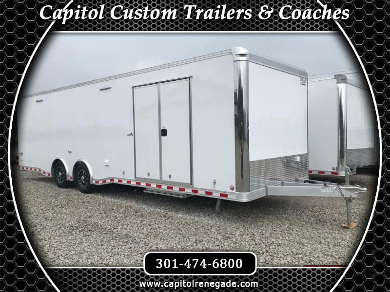 2020 Bravo Trailers 8.5x28 28' Aluminum Auto Performance Trailer