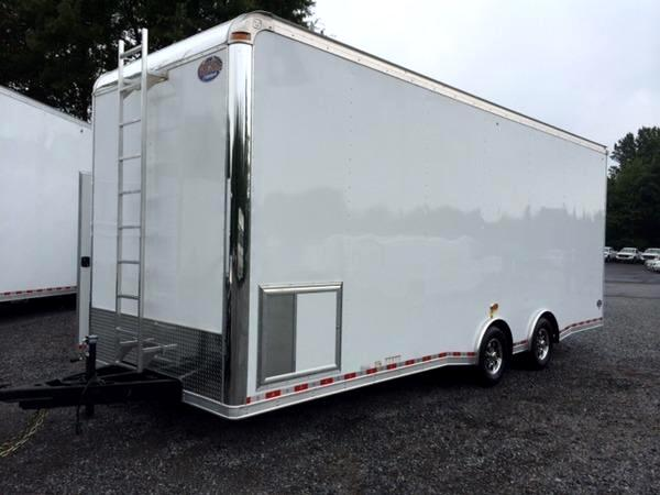 2015 United Trailer 26ft Sprint Car Trailer SOLD UNIT