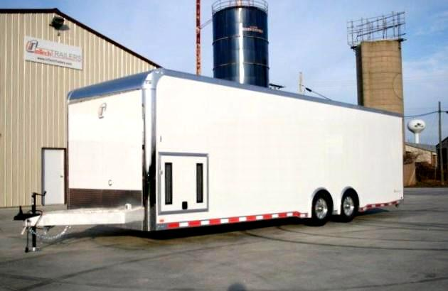 2016 Intech Trailers Icon 28ft Custom Aluminum Trailer SOLD UNIT