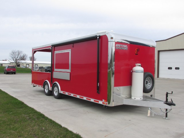 2015 Intech Trailers Icon BBQ Trailer