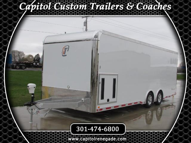 2016 Intech Trailers Icon 24ft Custom Aluminum