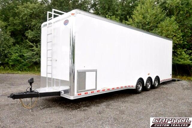 2016 United Trailers Custom Trailer 30ft Sprint Car Trailer SOLD UNIT