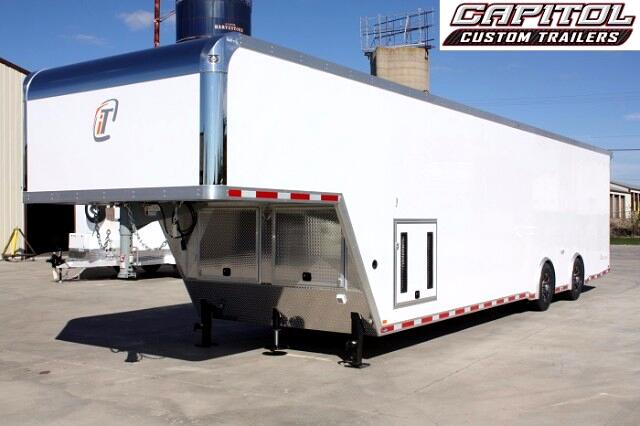 2018 Intech Trailers Icon 40ft Custom Aluminum Gooseneck SOLD UNIT