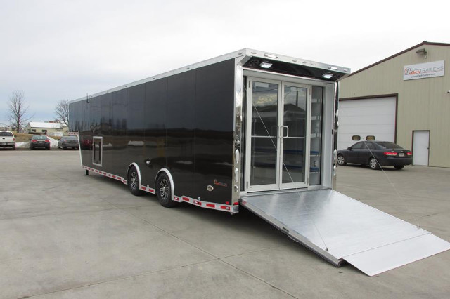 2015 Intech Trailers Gooseneck 40ft Custom I-Con