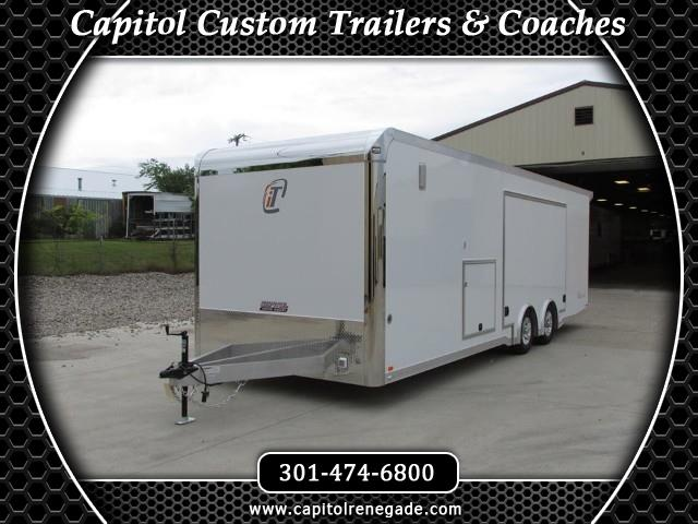2015 Intech Trailers Icon 28FT Custom Aluminum