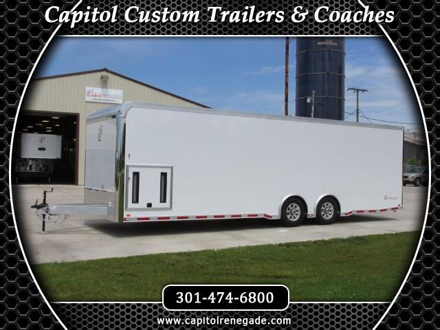 2015 Intech Trailers Icon 28 Ft Custom Aluminum