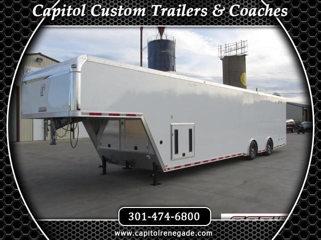 2015 Intech Trailers Gooseneck 40 FT Custom Aluminum Trailer