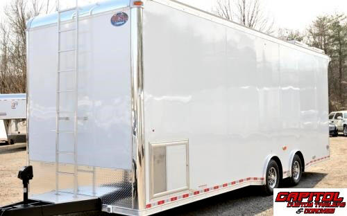 2016 United Trailers Super Hauler 28ft Sprint Car Trailer SOLD UNIT