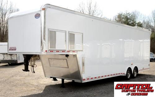 2016 United Trailers Gooseneck 36ft Sprint Car Trailer SOLD UNIT