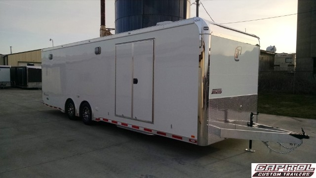 2016 Intech Trailers Icon 28FT CUSTOM ALUMINUM