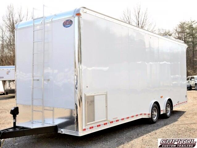 2017 United Trailers Super Hauler 28ft Sprint Car Trailer SOLD UNIT