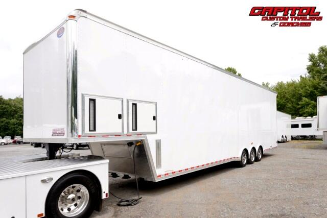2017 United Trailers Super Hauler 44ft Sprint Car Trailer SOLD UNIT
