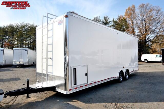 2017 United Trailers Super Hauler 28ft Dirt Late Model SOLD UNIT