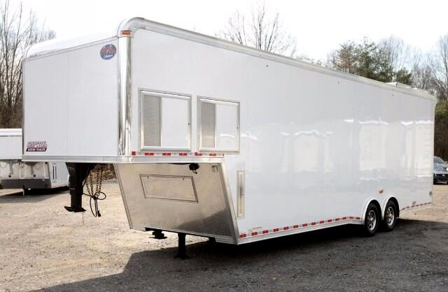 2017 United Trailers Gooseneck 36ft Sprint Car Trailer SOLD UNIT