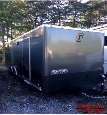 Intech Trailers Custom  2017