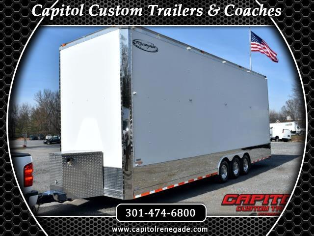 2008 Renegade Tag Trailer 30ft Tag Stacker SOLD UNIT