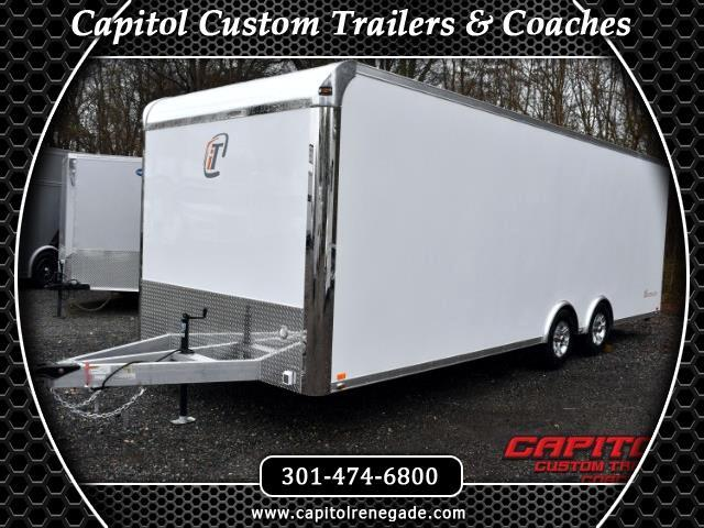 2017 Intech Trailers Custom 24ft Lite Trailer SOLD UNIT