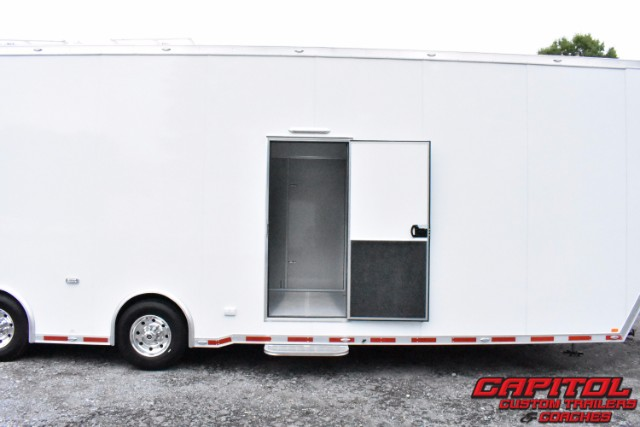 2019 Intech Trailers Gooseneck 40FT Gooseneck 2 Car Sprint Car Hauler