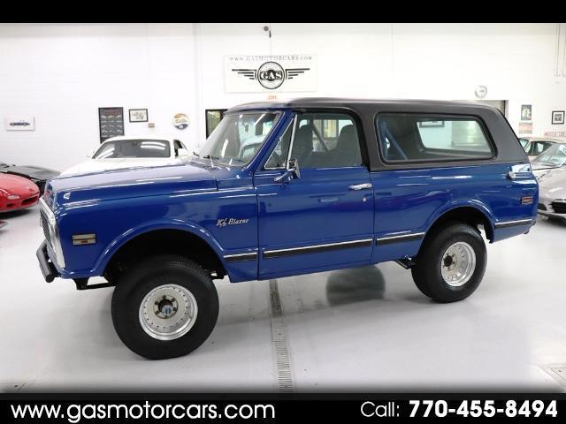1971 Chevrolet Blazer 4WD