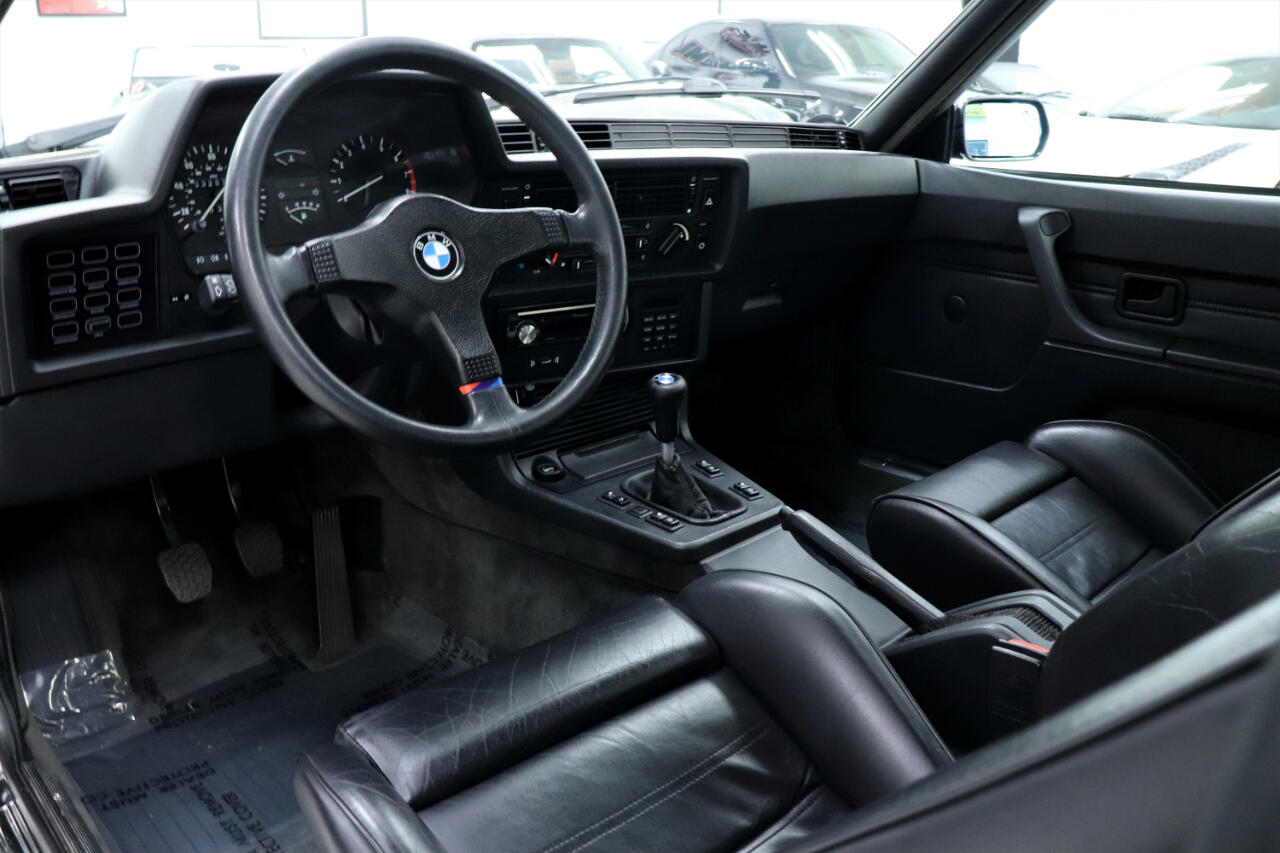 1985 BMW M6 Coupe