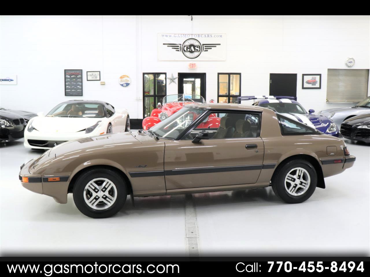 1985 Mazda RX-7 GS