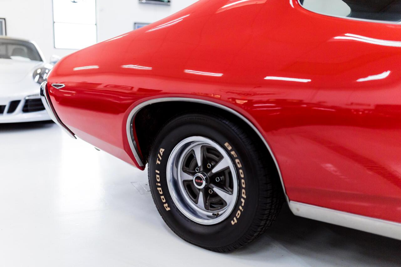 1969 Pontiac GTO 2dr Cpe