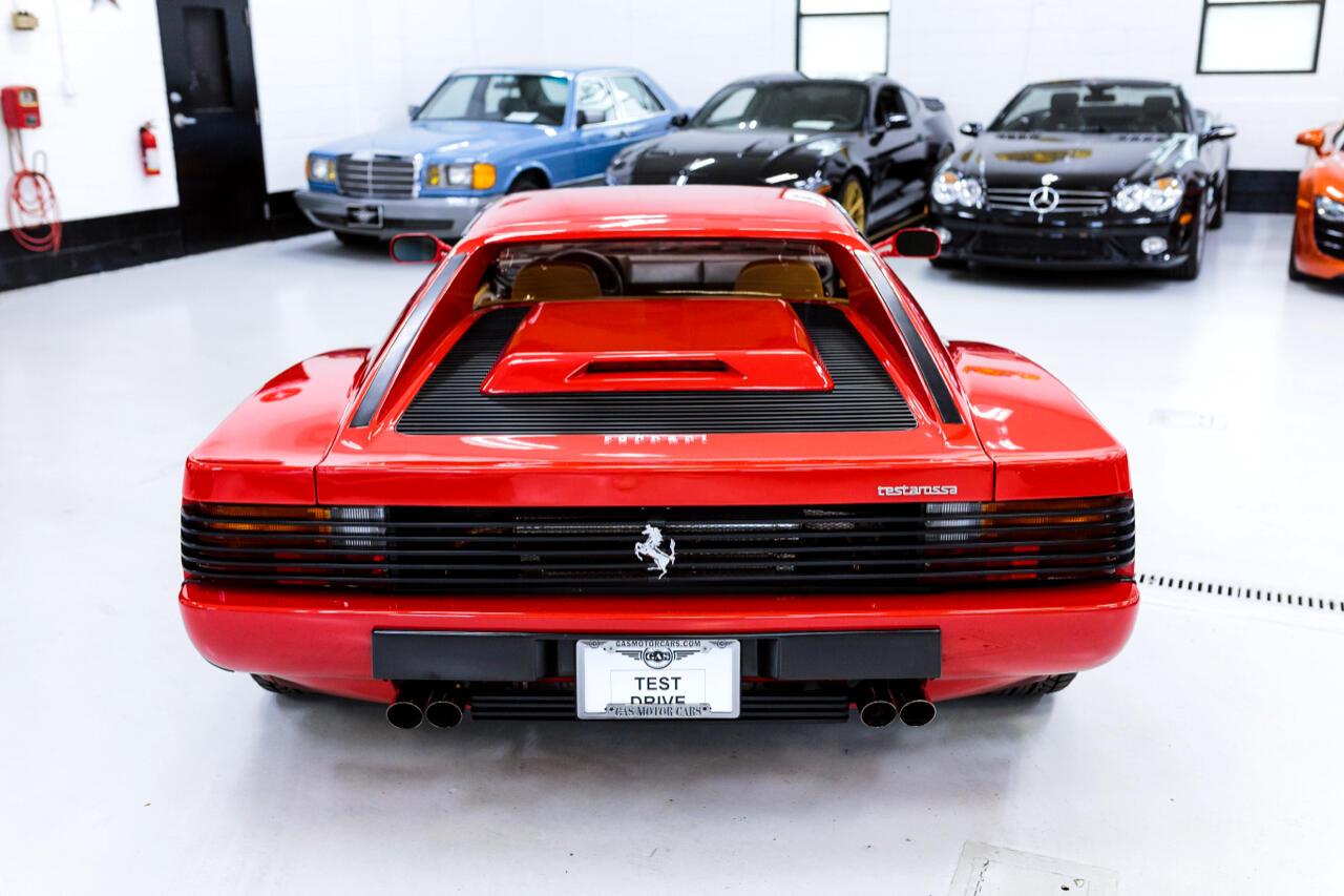1990 Ferrari Testarossa V12