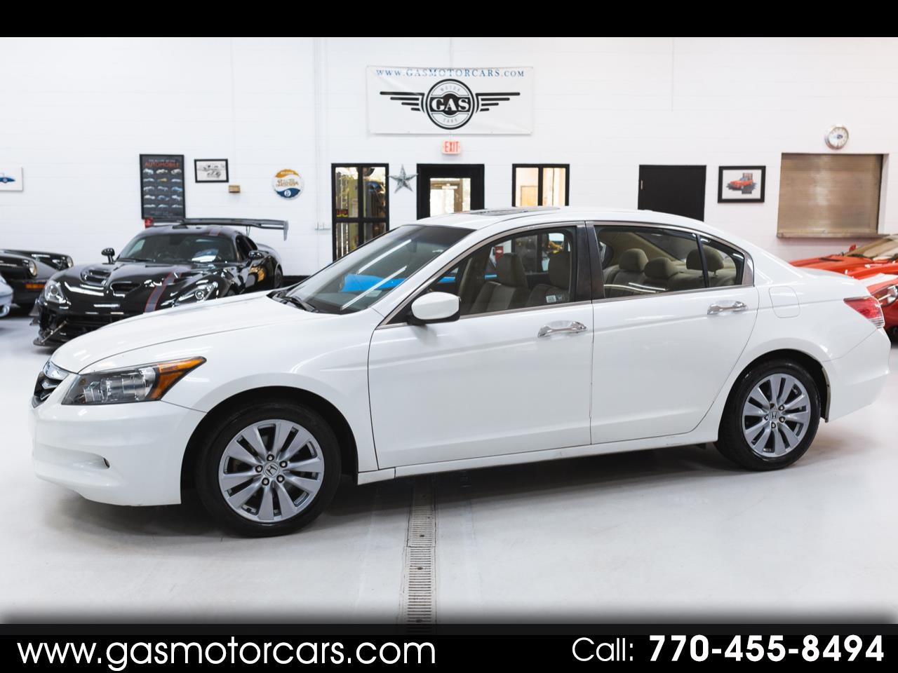 2012 Honda Accord EX-L V6 Sedan AT