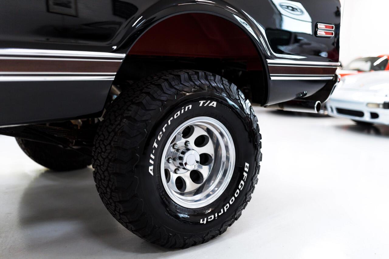 1971 Chevrolet K Blazer