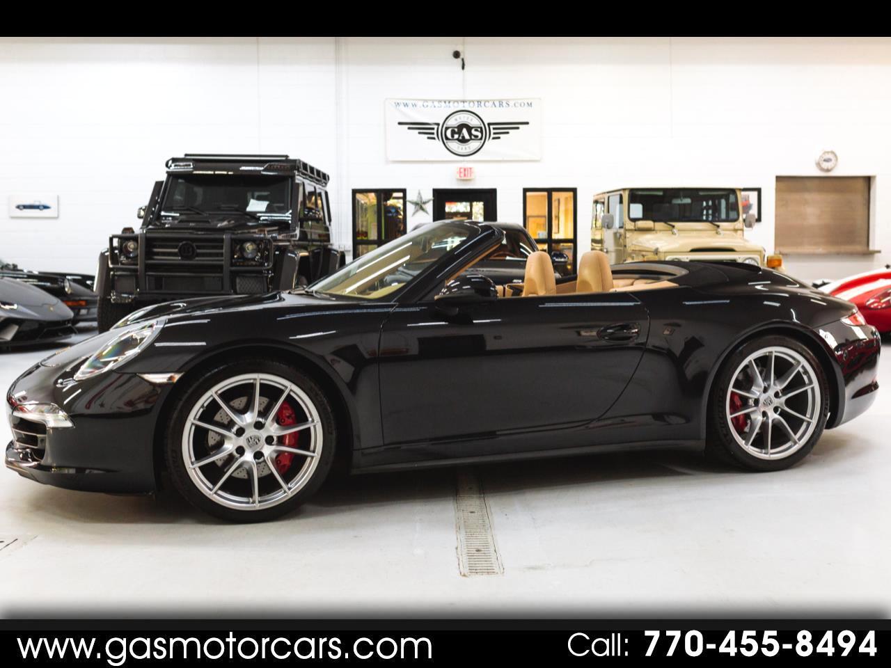 Porsche 911 Carrera 4S Cabriolet 2013