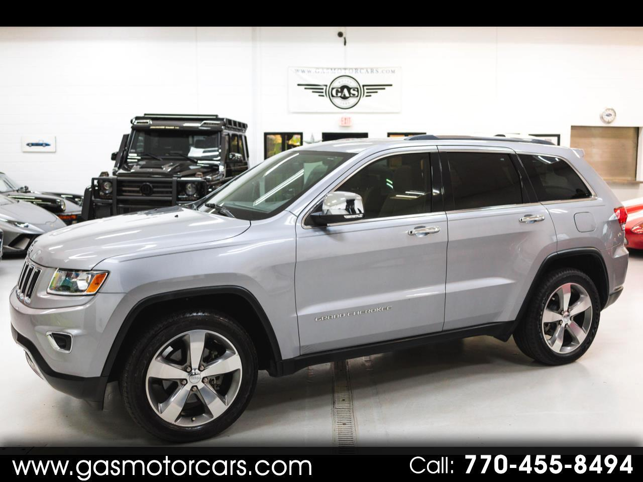 Jeep Grand Cherokee Limited 2WD 2014
