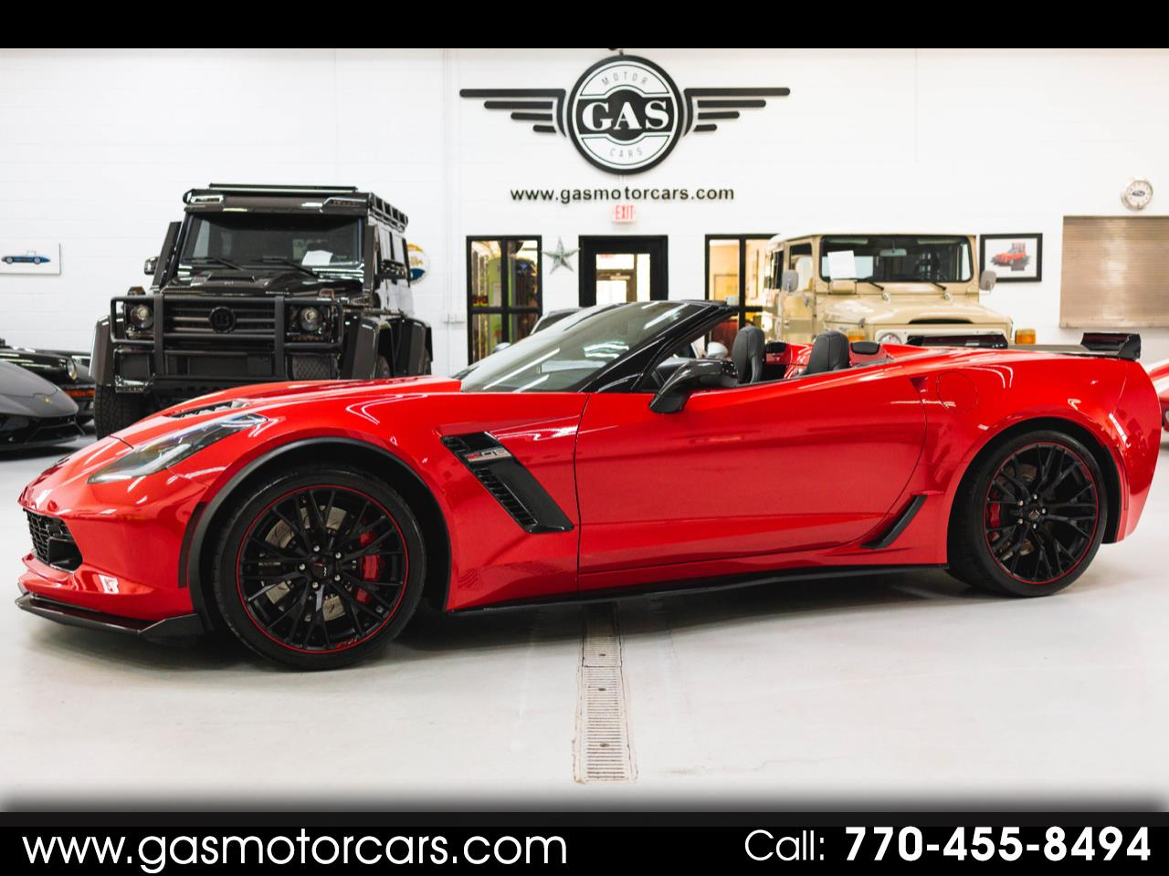 Chevrolet Corvette 3LZ Z06 Convertible 2018