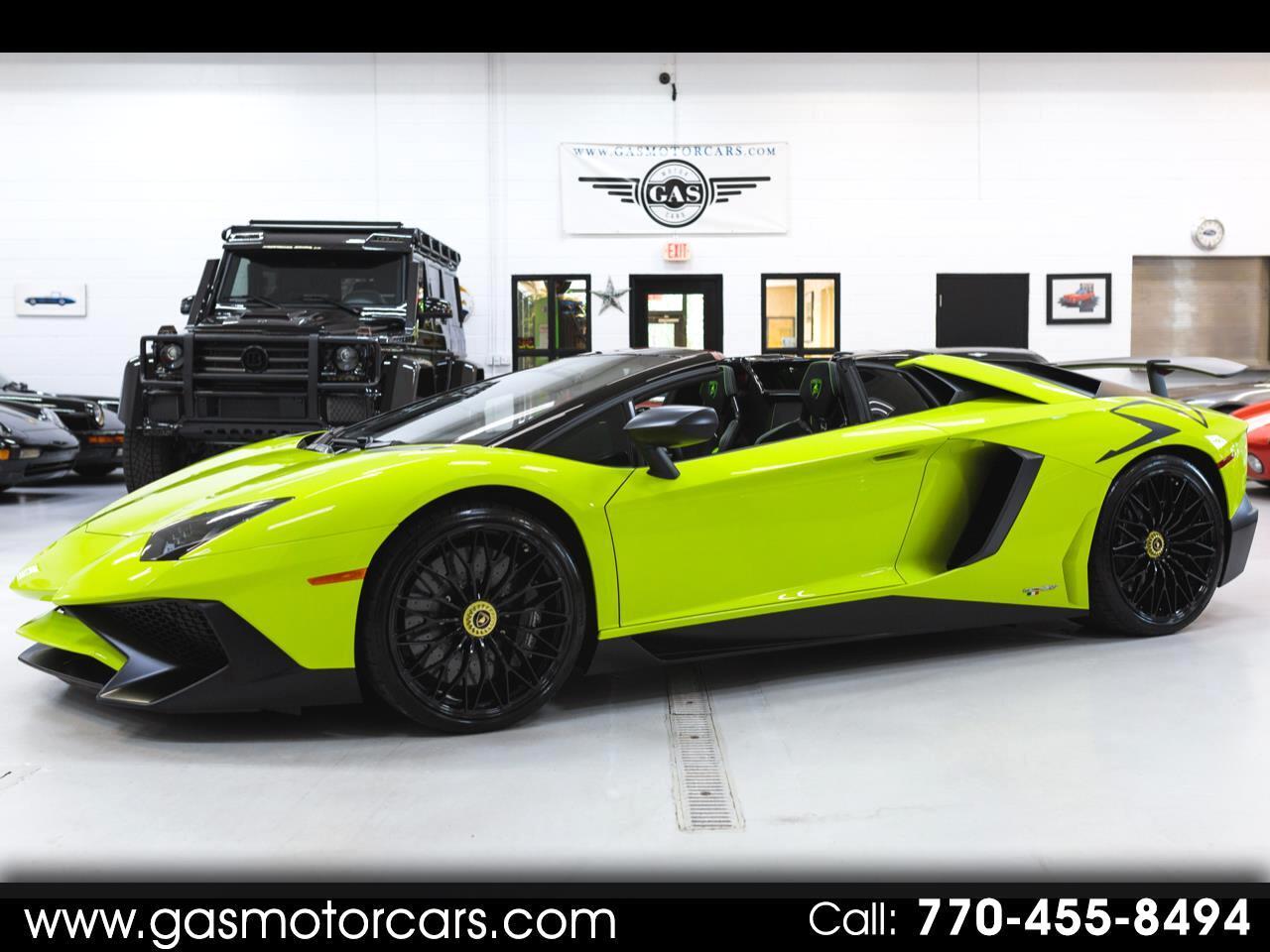 Lamborghini Aventador LP750-4 Superveloce Roadster 2016