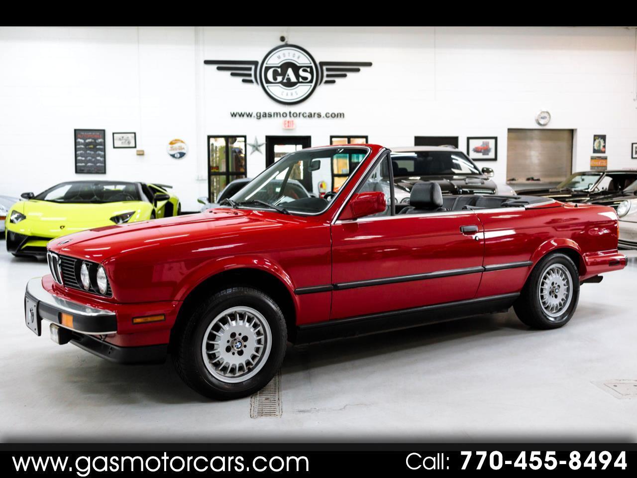 BMW 3-Series 325i 1987