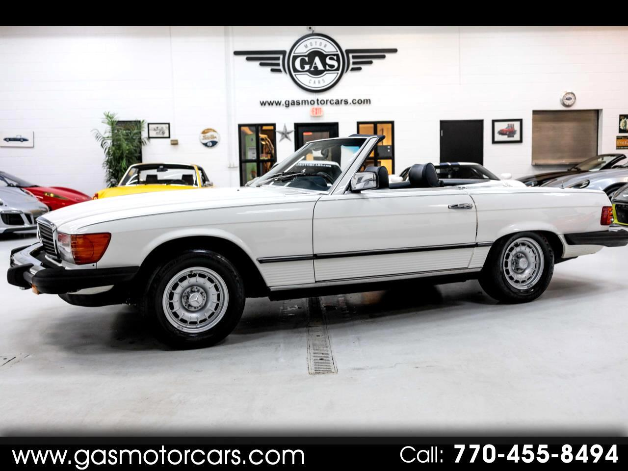 Mercedes-Benz 450 SL Convertible 1980