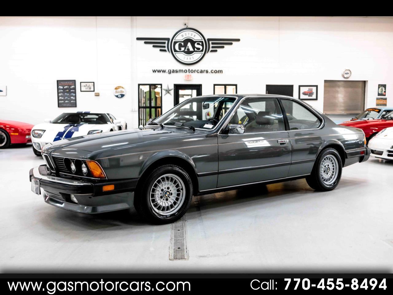 BMW 6-Series 635CSI automatic 1985