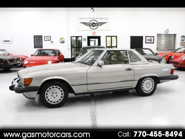 1988 Mercedes-Benz 560 SL coupe