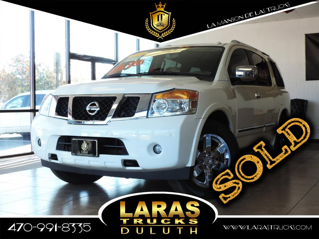 2011 Nissan Armada 2WD 4dr Platinum