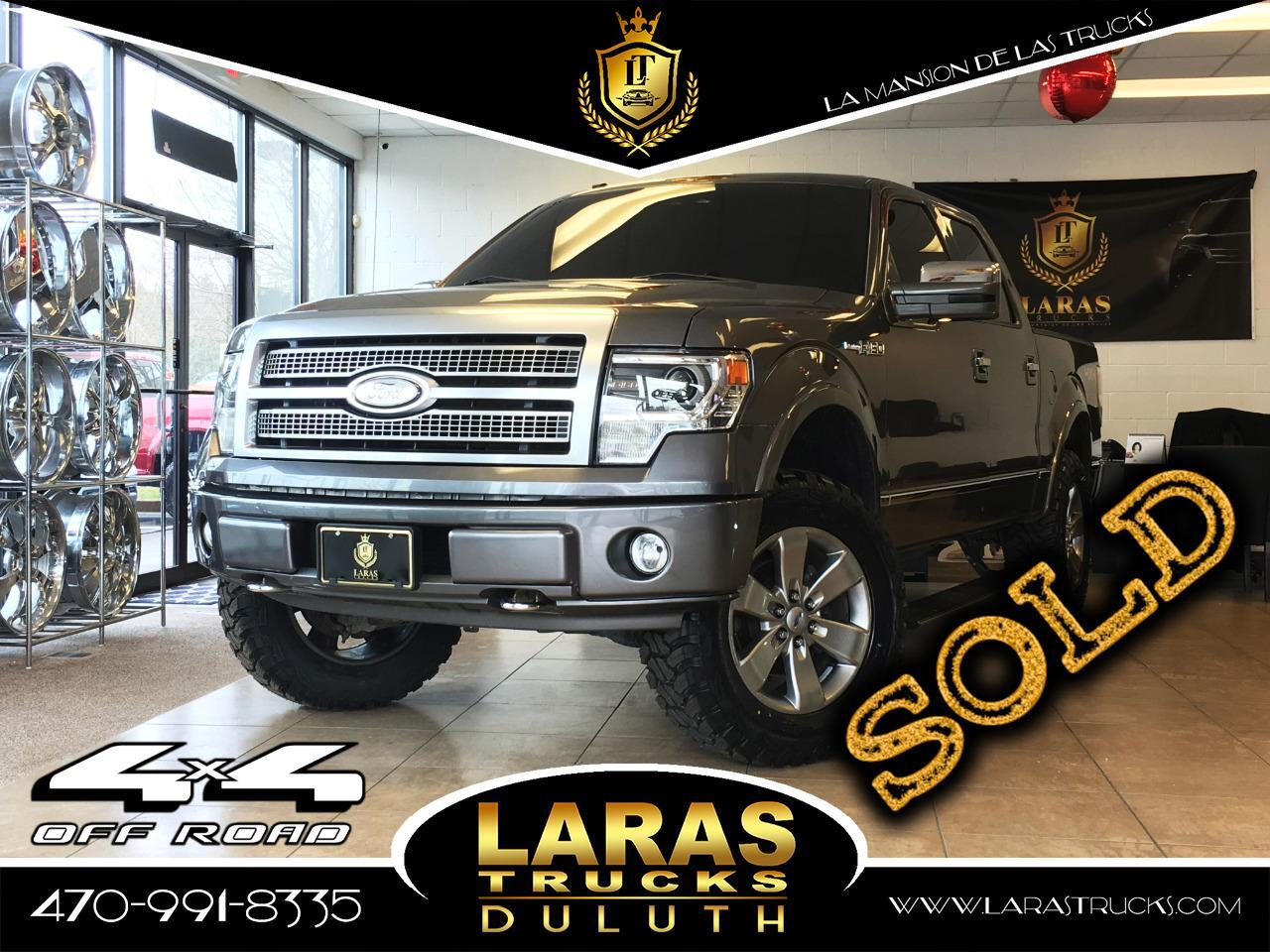 2013 Ford F-150 Platinum 4WD SuperCrew 5.5' Box