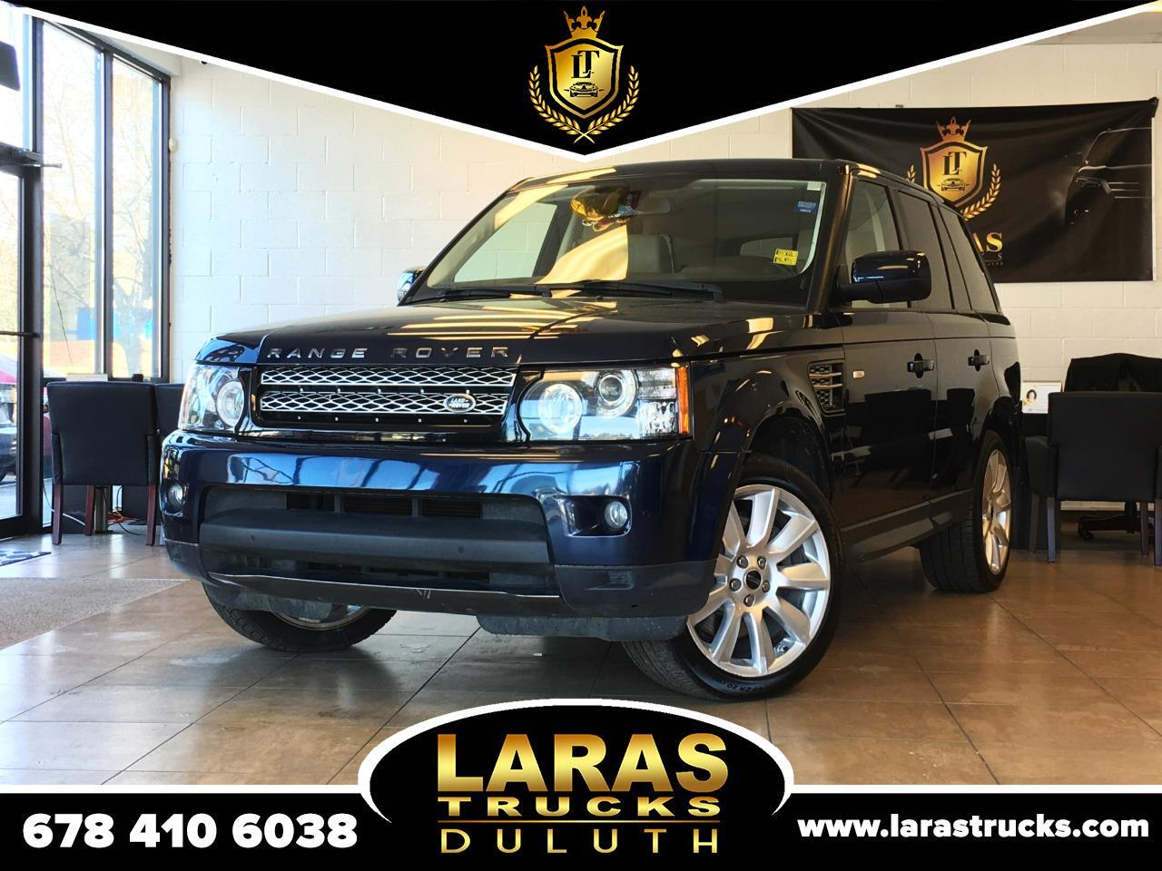 Land Rover Range Rover Sport 4WD 4dr HSE LUX 2012