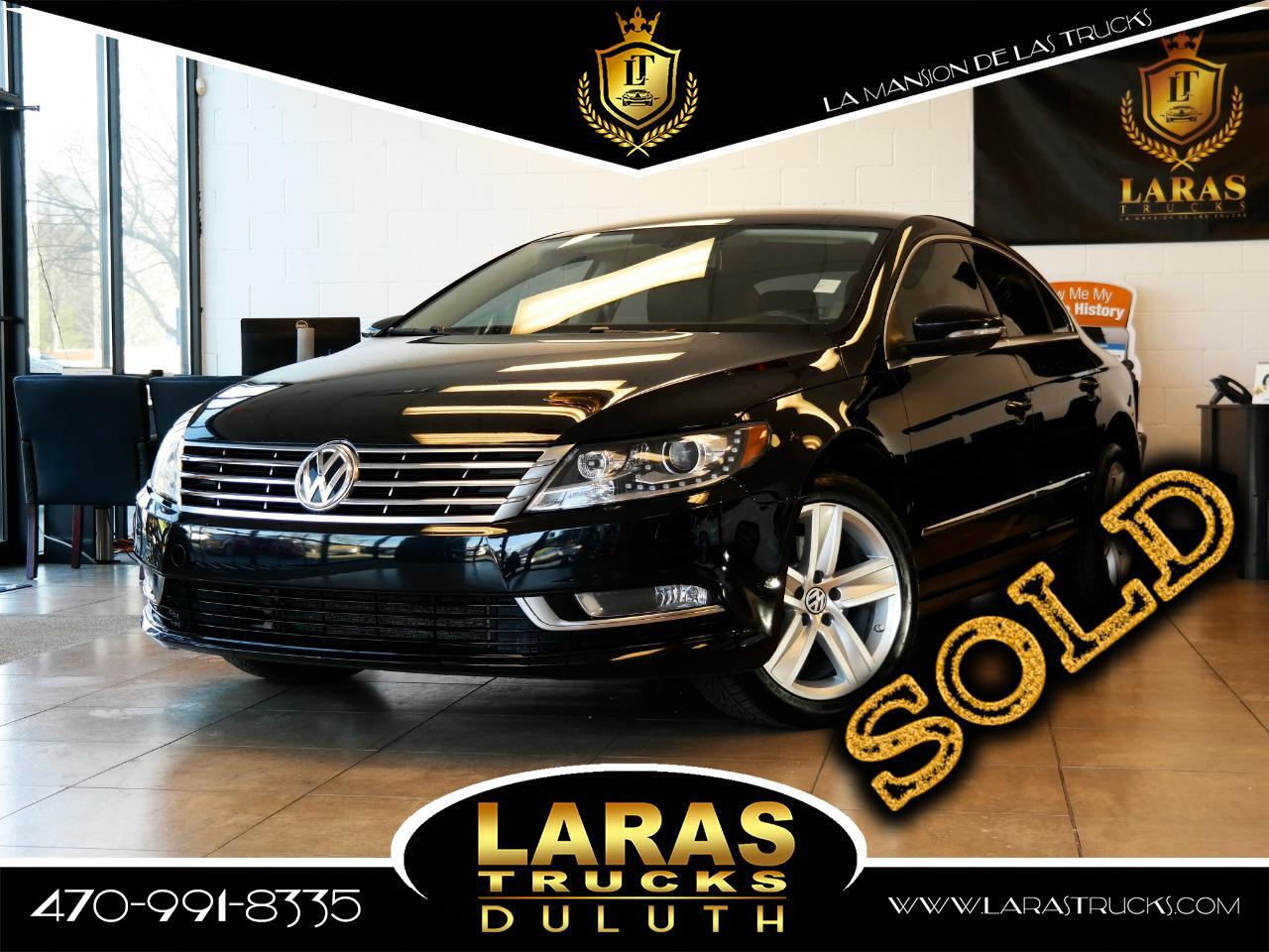 2013 Volkswagen CC 4dr Sdn Man Sport w/LEDs